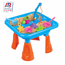2017 hot sale beach toy sand and water play table