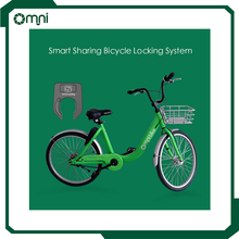 bike sharing system developers public e-bike rental lock and e-bike with GPS and APP