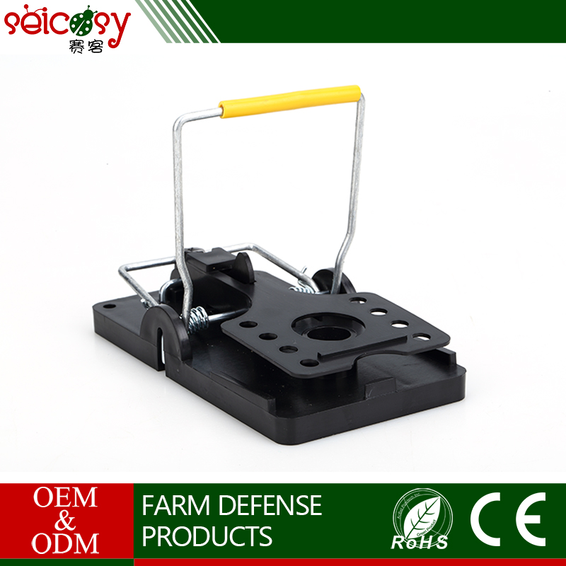 ABS Plastic sanitary rodent disposal eco-Friendly electric mouse trap