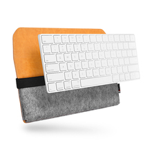 For new magic apple keyboard leather case
