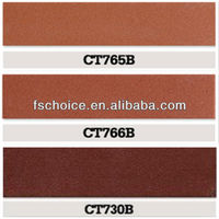unglazed ceramic cheap tiles for walls exteriore brick red in Foshan