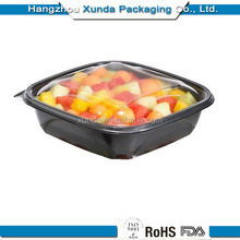 brand luxury bento plastic restaurant fast food take away food bowl container lunch box with soup rice meat with lid