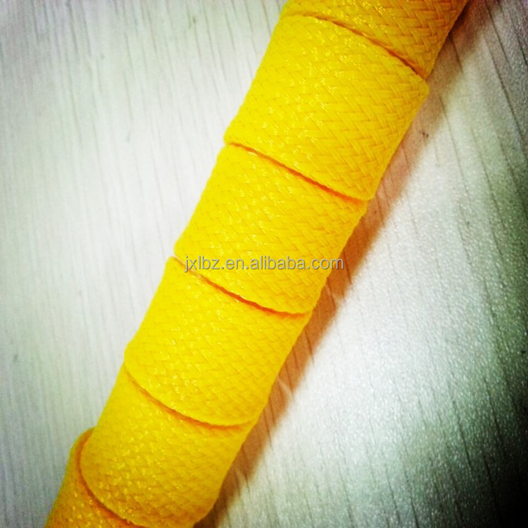 High density PET Braided Expandable Sleeve for curly hair products