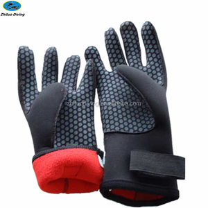 trading manufacture comfortable silicone swimming glove for diving