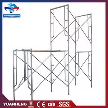2017 Powder Coated Steel Pin Lock H Frame Scaffolding