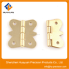Small Butterfly Style Hinge With Brass
