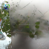 window glass etching designs/acid etched glass/acid etched pattern for decorative glass