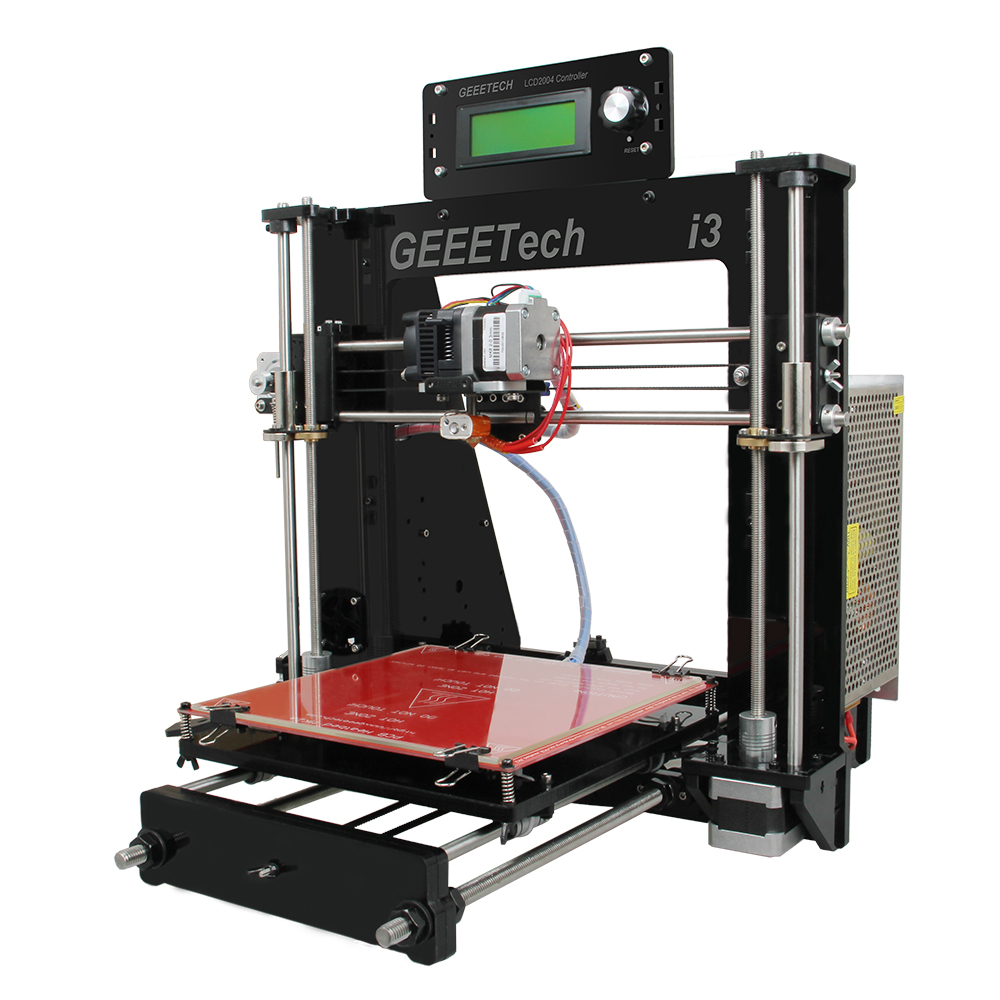 impresora 3d Chinese Geeetech Prusa I3 GT2560 DIY 3D printer with auto leveling