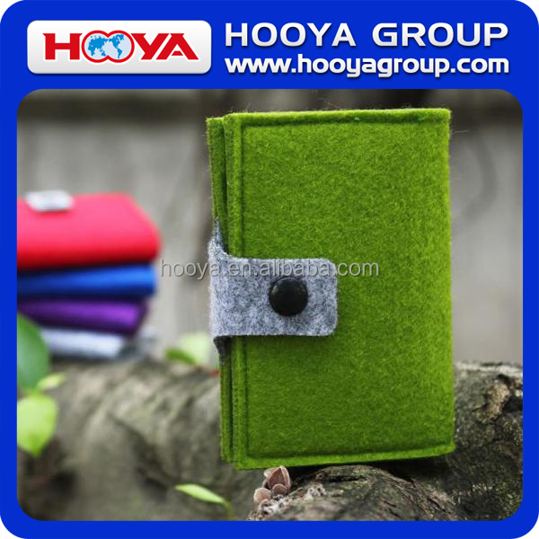 12*8cm Felt Card Holder With Joint Color