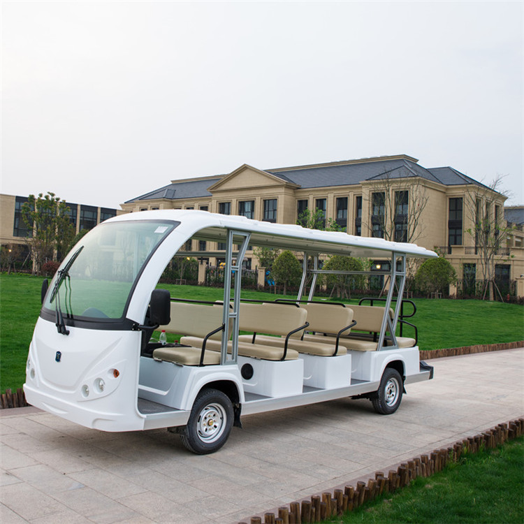 8 11 14 23 seats sightseeing bus car with electric or gasoline power