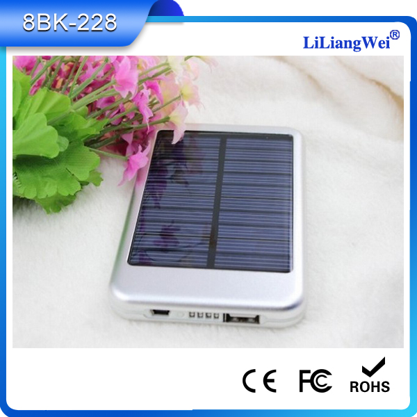 Exquisite good quality solar charger 5000 mah