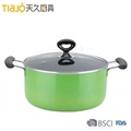 Aluminum Nonstick 2-Quart Saucepan glass lid cover