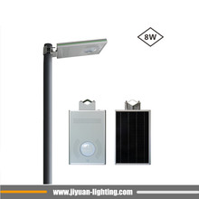 all in one Induction 15w 3m pole led solar street light