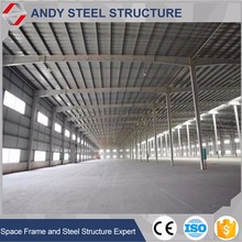 Arched Roof Truss Steel Structure about sugar factory workshops