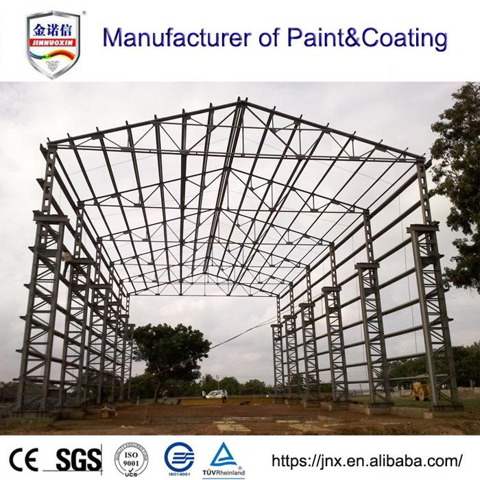 Factory mannufactures epoxy zinc-rich primer for steel structures