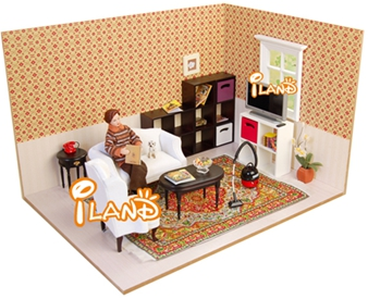Doll house diy doll house furniture/ Setting WH020C