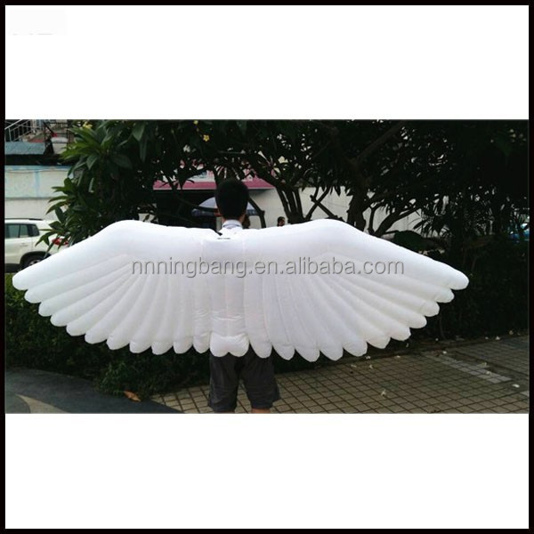 high quality inflatable decorative angel wings for sale