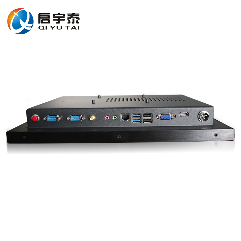 low-power barebone system touch screen industrial panel pc (I3 I5 I7)