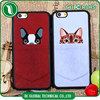 China supplier cartoon mobile phone cover colorful painting pocket dog/cat for iphone 6 case tpu cases for iphone 6 and 6s