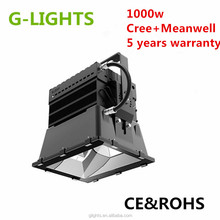 IP65 Cr ee Chip Meanwell Driver High Power Factor 1000w Led High Bay Light