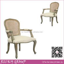 French Dining Chair,Louis Xv French Dining Chair,French Dining Chair With Linen Fabric RQ21391