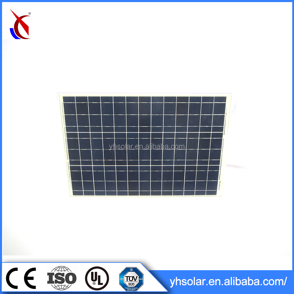 670*620*30mm Solar Panel , Poly Solar Modules 50W