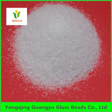 casting, concrete and high quality glass sand