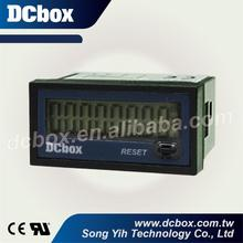 24*48 mm 8 Digital LCD Panel Timer Meter