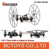 2 In 1 2.4G rc drone manufacture mini helicopter toy with six-axis gyro for sale.