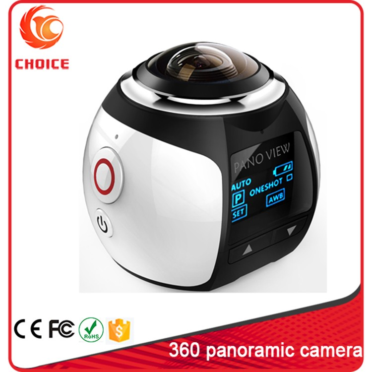 2016 Newest Famous 360 Degree Camera Wifi Cube Camera For biking Diving