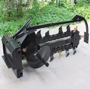 Shanghai SMB factory alibaba popular selling mini skid parts of disk trencher