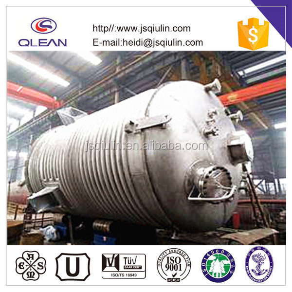 mixing tank with Agitator stainless steel Reactor
