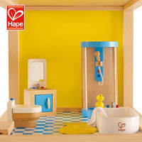Hot New High Quality Cheap Family Bathroom play wooden toy game