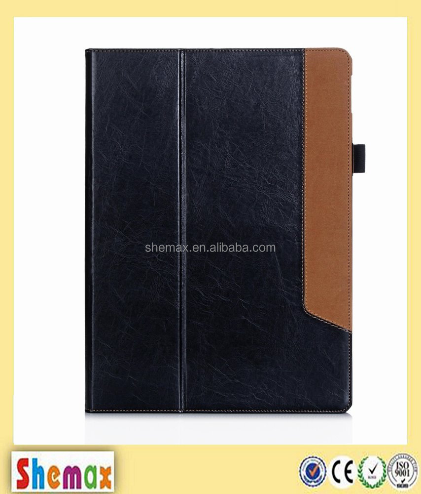 "Hot-selling leather tablet case for ipad pro,12.9"" case for ipad pro"