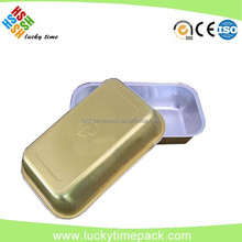 Food use aluminum microwave food container with CE,SGS,FDA certificate
