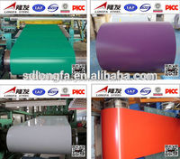 PPGI Coils, Color Coated Steel Coil, RAL9003 White Prepainted Galvanized Steel Coil /Metal RoofingSheets Building Materials