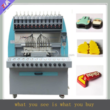 promotional 12 colors pvc usb case dispensing machine/making machine