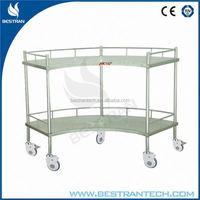 BT-SIT001 hospital Fan-Shaped Operation room furniture moving trolleys