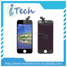 LCD Display with Touch Screen Digitizer Assembly for iPhone 5 5g Mobile Phone LCD China Supplier