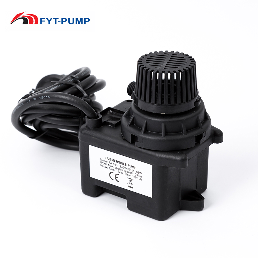 low pressure CE 50w centrifugal submersible water micro spray pump