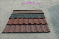 aluminium sheet asphalt shingle stone coated roof tile