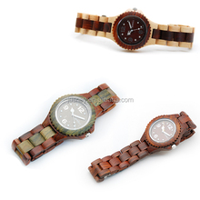 Higt quality wooden wrist watch, chinese wholesale watches