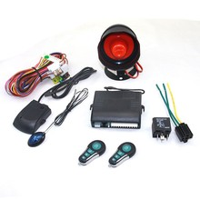 one way car alarm hands free keyless entry system for South America countries best car alarm