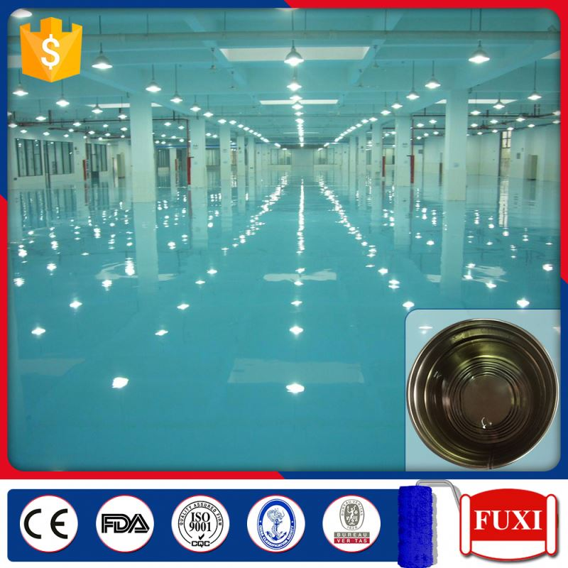 FXHD88-33 High Build Paint Solvent Epoxy Self-leveling Seal Primer Concrete Floor Coating