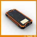 Low price Solar Power Bank 8000mAh 12000mah with camping lamp