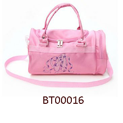 BT00056 Wholesale Baby Girls Ballet Competition Bags Pink Lovely Dance Garment Bags