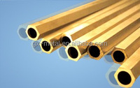 decorative brass twisted tubes &pipes/brass tube