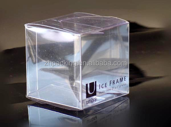 Custom Wedding Single Cupcake Box Clear PVC Plastic Cupcake Boxes With Insert