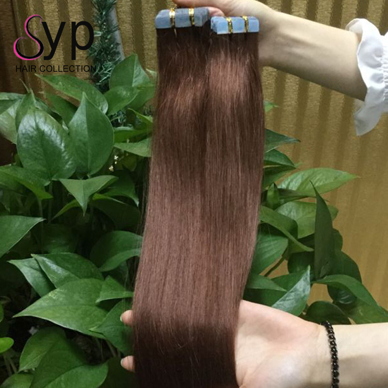 12 To 30 Inch Remy African American Human Deep Wave Tape Hair Extensions