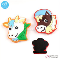 Cartoon train flexi soft pvc fridge magnet(promotion gifts)